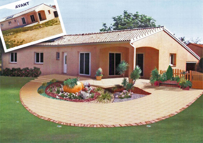 Conception paysag re plan cr ation d 39 ext rieur for Logiciel decoration exterieure jardin